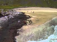Norvegia – Insula Lofoten filmată din dronă