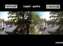 GoPro Hero 3 versus GoPro Hero 3+ Black edition (both)