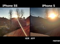 Comparație camere: iPhone 5 vs iPhone 5S