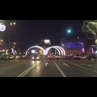 Luminite de Craciun in Bucuresti 2013 (video)