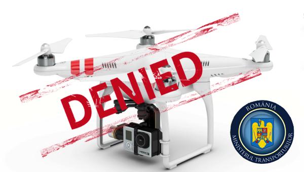 Ministerul transporturilor versus Drone