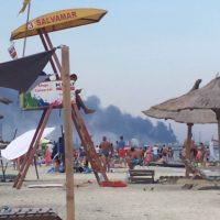 E ceva incendiu la Petromidia Năvodari?