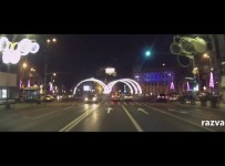 Luminite de Craciun in Bucuresti 2013 (video)